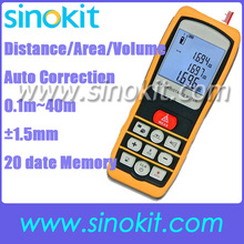 Big discount Professional Laser Distance 40 Meter USB Area Volume Range Finder Pythagorean Theorem +/-1.5mm Accuracy 40m/131ft Range – SK40D