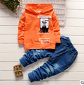 2016New Fashion 2 pc / set Fall and winter baby boys and girls baby clothes kids clothes