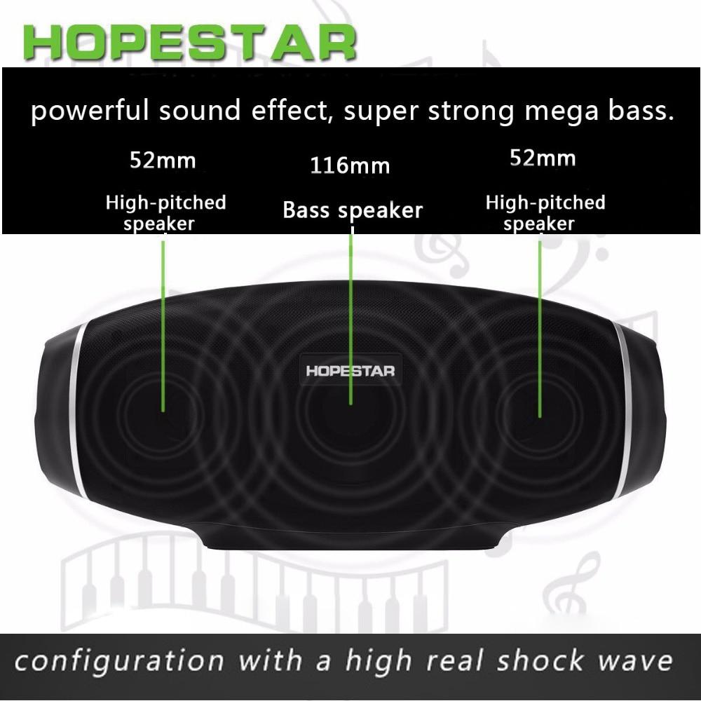 H20 étanche colonne de musique 30 W Rugby sans fil Bluetooth haut-parleur 2.1 Portable boîte de barre de son USB lecteur MP3 basse stéréo caisson de basses