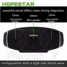 H20 Waterproof Music Column 30W Rugby Wireless Bluetooth Speaker2.1 Portable sound bar box USB MP3 Player Bass Stereo Subwoofer