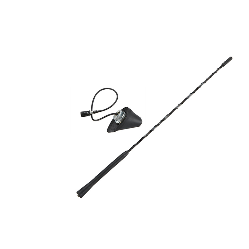 1 Set Universal 16 inch Car Anti Noise Whip Roof Mast AM FM Aerial Antenna Base For BMW VW Jetta Bora Golf Polo MK4 Passat Audi in Aerials from Automobiles Motorcycles