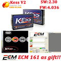 DHL free!!!KESS master ECU Chip Tuning  kess v2 V2.28 2.30 Firmware V4.036 KESS V2 with no tokens limited Kess v2 Master Version