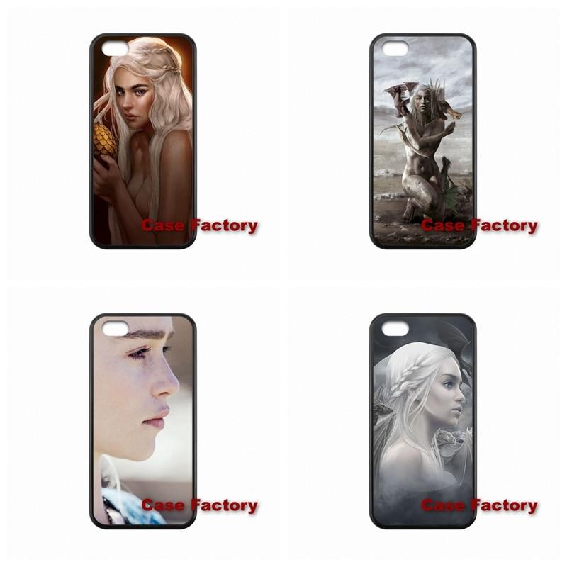For BlackBerry 8520 9700 9900 Z10 Q10 Sony Z1 Z2 Z3 Compact Khaleesi Daenerys Targaryen Game of Throne accessories Hard Skin