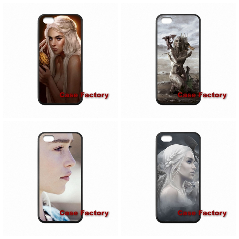 For BlackBerry 8520 9700 9900 Z10 Q10 Sony Z1 Z2 Z3 Compact Khaleesi Daenerys Targaryen Game of Throne accessories Hard Skin