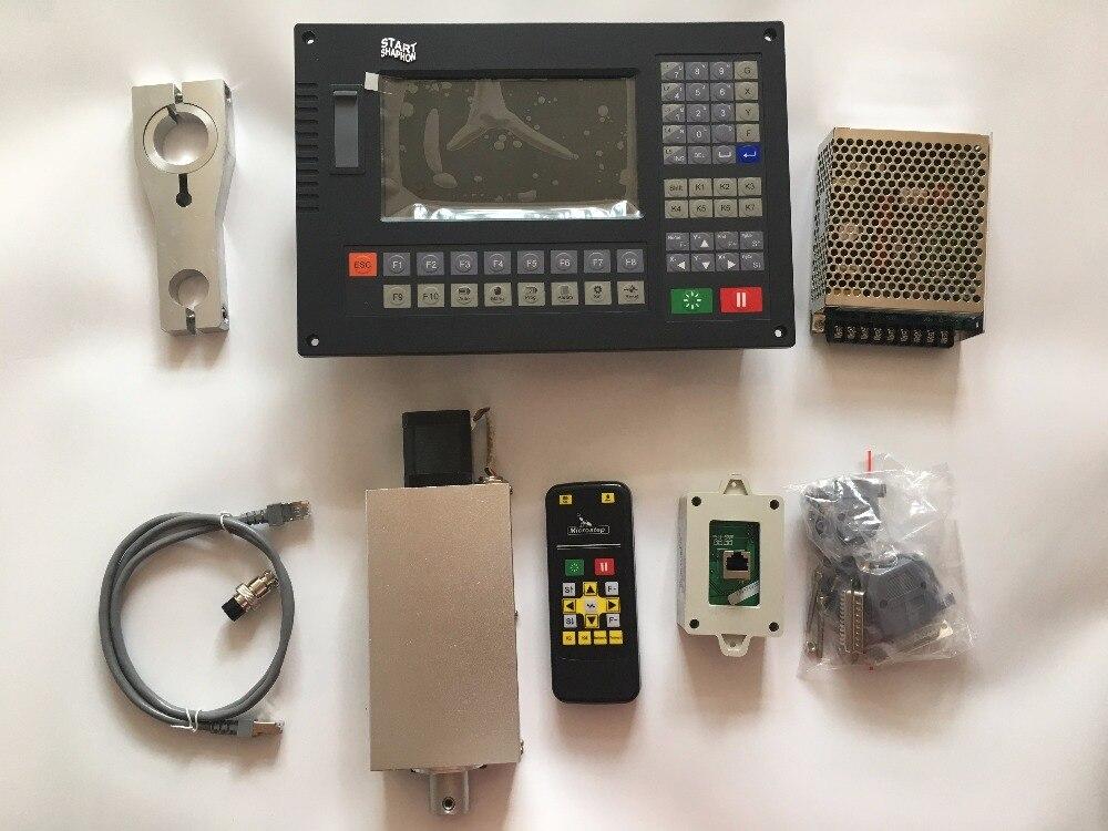 CNC Contrôleur CC-S4D pour plasma de coupe Construit en contrôle de l'arc torche contrôle de la hauteur avec lfter et télécommande