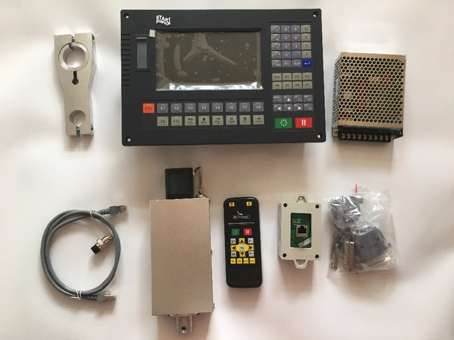 CNC Controller CC S4D สำหรับพลาสม่าตัด CC S4C ในตัว Arc ควบคุมไฟฉายความสูงควบคุม lfter และรีโมทคอนโทรล
