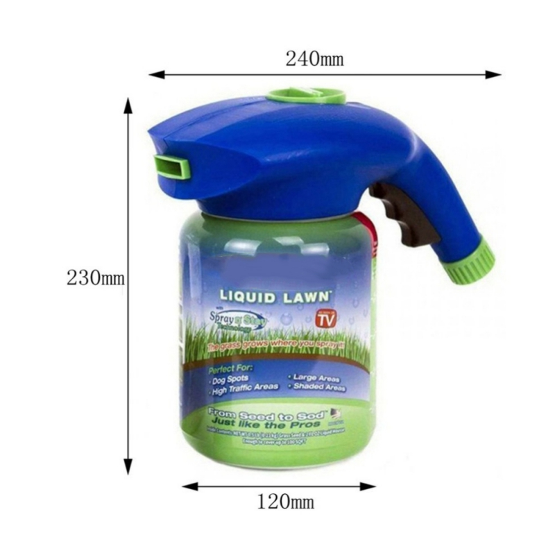 US $8 97 21% OFF|Garden Lawn Mousse Household Hydro Seeding System Liquid  Spray Device For Seed Lawn Care Tools (not including Liquid)-in Water Cans