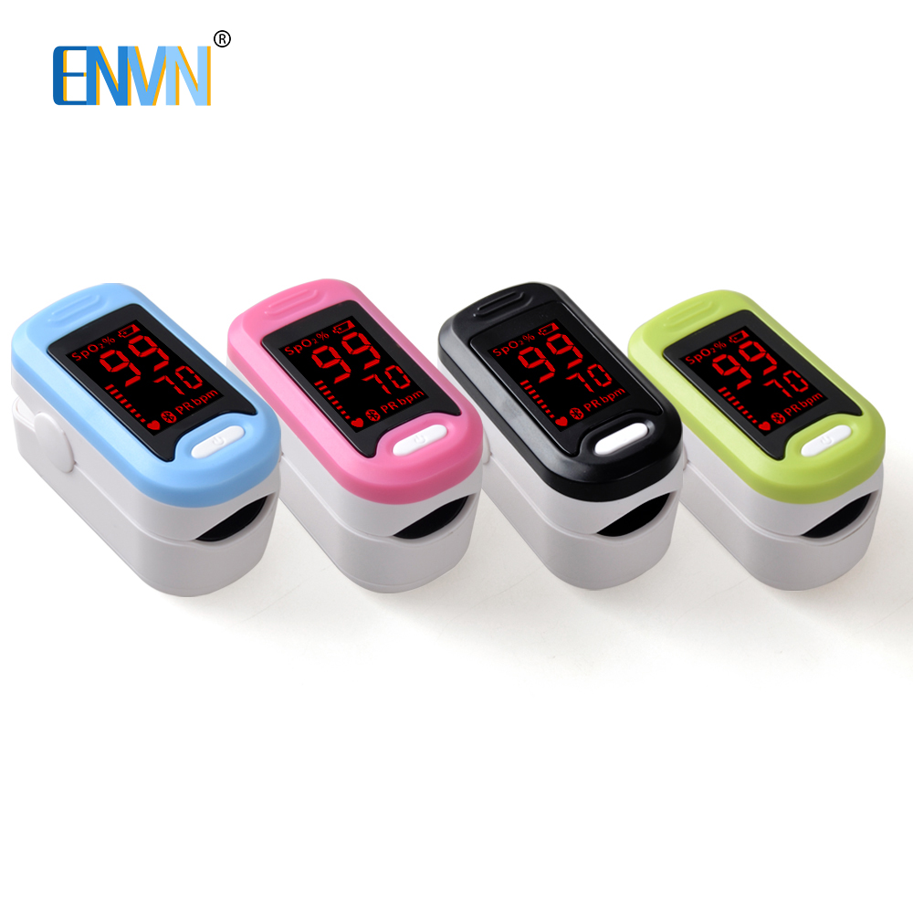 ENVN LED Fingertip Pulse Oximeter Medical Equipment Blood oxygen Monitor 4 Color Oximetro de dedo oxymeter SPO2 PR Health CareENVN LED Fingertip Pulse Oximeter Medical Equipment Blood oxygen Monitor 4 Color Oximetro de dedo oxymeter SPO2 PR Health Care