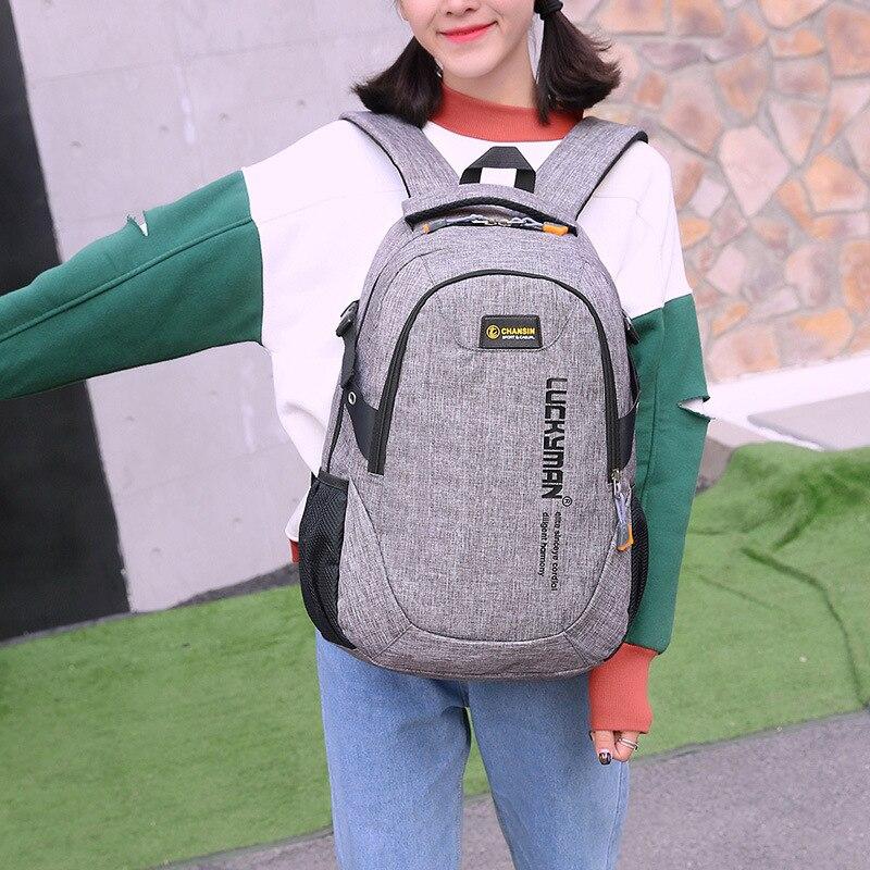 grande capacidade sacolas de estudante Exterior : Saco Contínuo