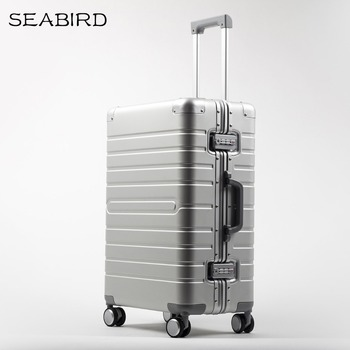 SEABIRD 20″ 24″ 28″ inch 100% aluminium spinner travel suitcase hand luggage trolley with wheel -in Hardside Luggage from Luggage & Bags on Aliexpress.com | Alibaba Group