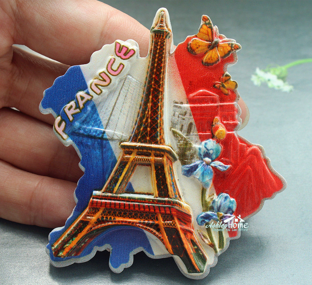 US $6 99  Eiffel Tower, Paris, France Souvenir Resin Decorative  Refrigerator Magnet Tourist Travel GIFT IDEA-in Fridge Magnets from Home &  Garden on
