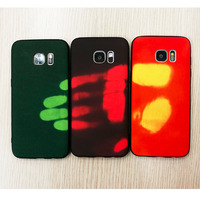 S8 Plus TPU Thermal Induction Color Changing Case For Samsung Galaxy S8 S8 Plus S7 S6