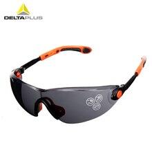 Deltaplus óculos de Proteção Óculos de Lente PC Óculos de Segurança de Alta  Resistência Anti- 84fe21d1e7