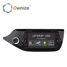 Ownice C500 4G SIM LTE 1024*600 4 Core Android 6.0 for KIA CEED 2013 2014 2015 Car DVD Player Navi GPS wifi Radio 2GB RAM 16GB