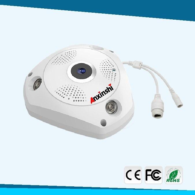 4MP HD рыбий глаз Беспроводная ip камера wifi 360 градусов Мини WiFi камера сеть Домашняя безопасность панорамный фотоаппарат ИК камера наблюдения - 6