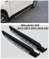 Dla Mitsubishi ASX 2013.2014.2015.2016.2017 samochód deski do jazdy boczny wspornik do wsiadania pedały wysokiej jakości nowy Cayenne projekt Nerf bary