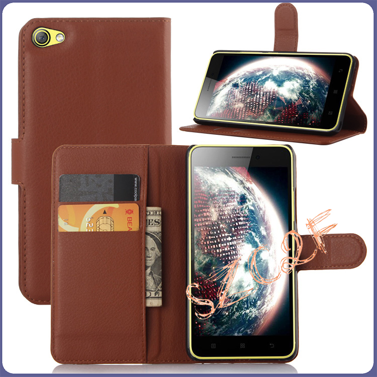Case For <font><b>Lenovo</b></font> <font><b>S60</b></font> Luxury Wallet Style PU Leather Cover Case For <font><b>Lenovo</b></font> <font><b>S60</b></font> S 60 S60T S60W With Card Holder Stand Function image