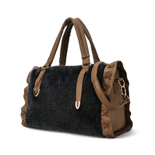 The 2016 winter new imitation mink hair woven inside Boston interval portable Shoulder Messenger Bag free shipping