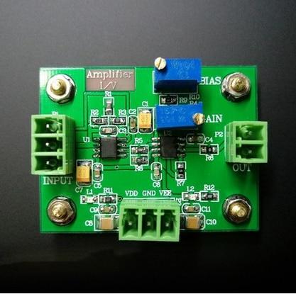 IV Conversion Amplifier Voltage Signal Amplification Photoelectric Amplifier Module Current Transfer Voltage Follow