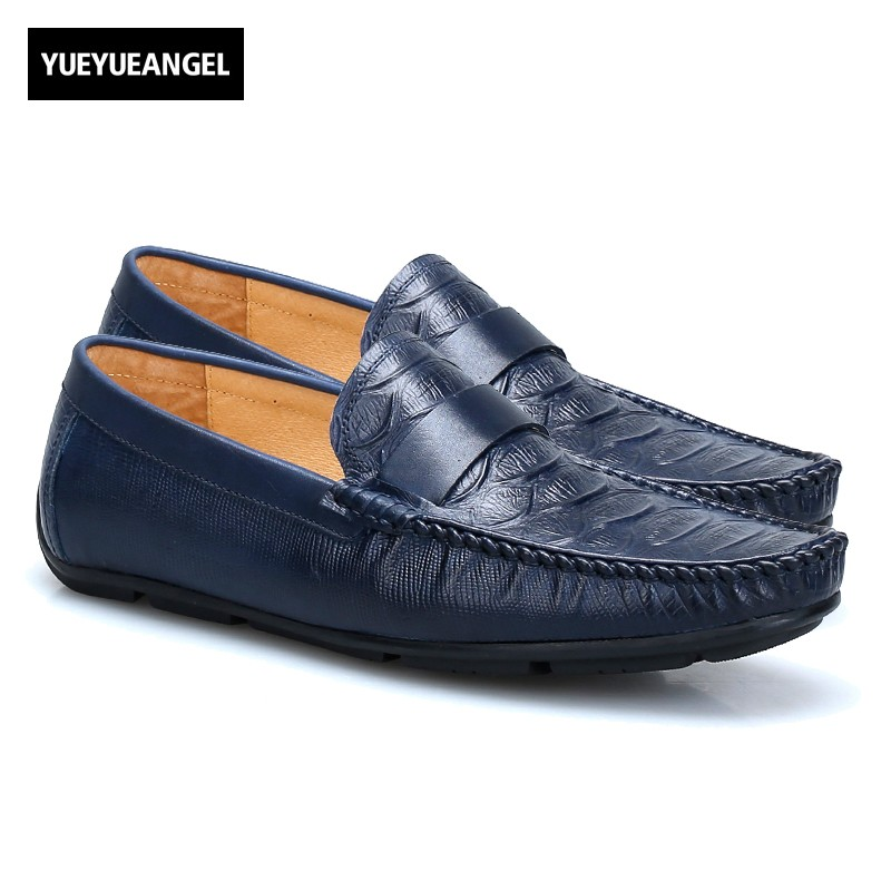 British Autumn Soft Loafers Slip On Genuine Leather Casual Shoes Men Male Footwear Round Toe Sapatos Masculino Erkek Ayakkabi wonzom high quality genuine leather brand men casual shoes fashion breathable comfort footwear for male slip on driving loafers