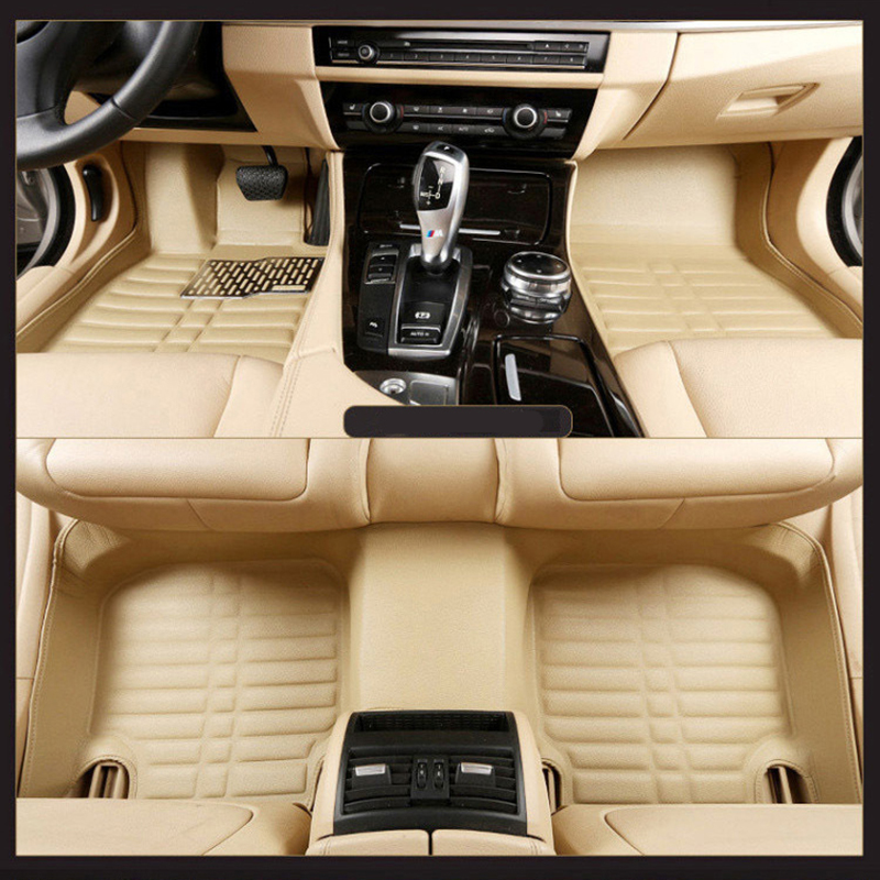 New Car Floor Mats Covers free shipping 5D for Mitsubishi Car-Styling
