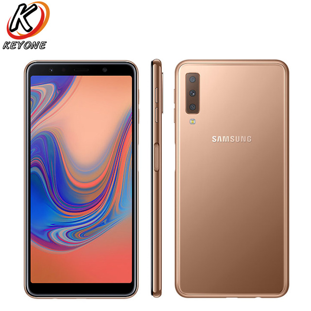 New Samsung Galaxy A7 A750F-DS 2018 4G LTE Mobile Phone 6.0