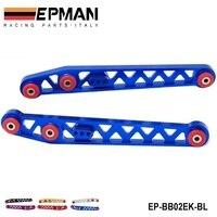 NEW REAR LOWER CONTROL ARMS FOR HONDA CIVIC 96 00 EK EM1 RED EP BB02EK