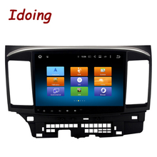 Idoing 2Din10.2″ 2G+32G For Mitsubishi Lancer Android6.0 Steering-Wheel Octa Core Car GPS Player Navigation Fast Boot 4G NO DVD