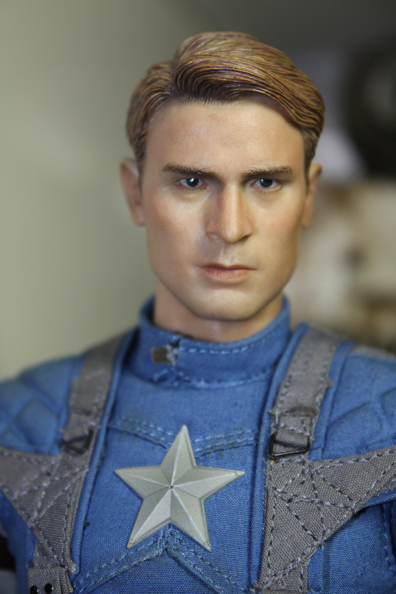 ФОТО 1/6 scale figure doll head.Captain America Chris Evans head shape.doll accessories for DIY12