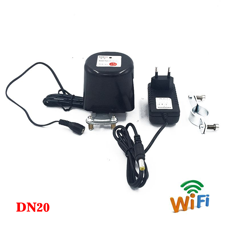 3/4 Smart Wifi Water Manipulator Valve Dn20 Smart Home Garden Automation System Valve Gas/water Control 12v 1a Finely Processed Building Automation