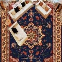 Custom 3D Marble Pattern European Parquet 3D Floor Tiles Floor Painting 3D Floor Pvc Thick Wear