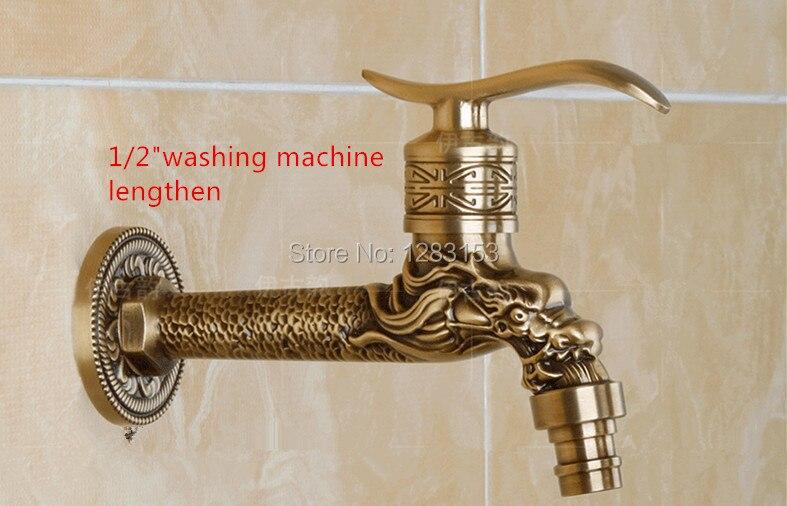 high quality antique brass tap hand cut outdoor garden tap washing ...