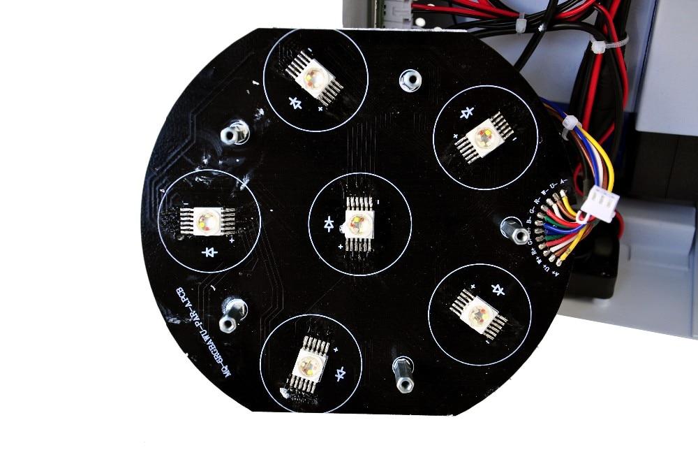 UV 6in1 DMX Energia Da Bateria Sem
