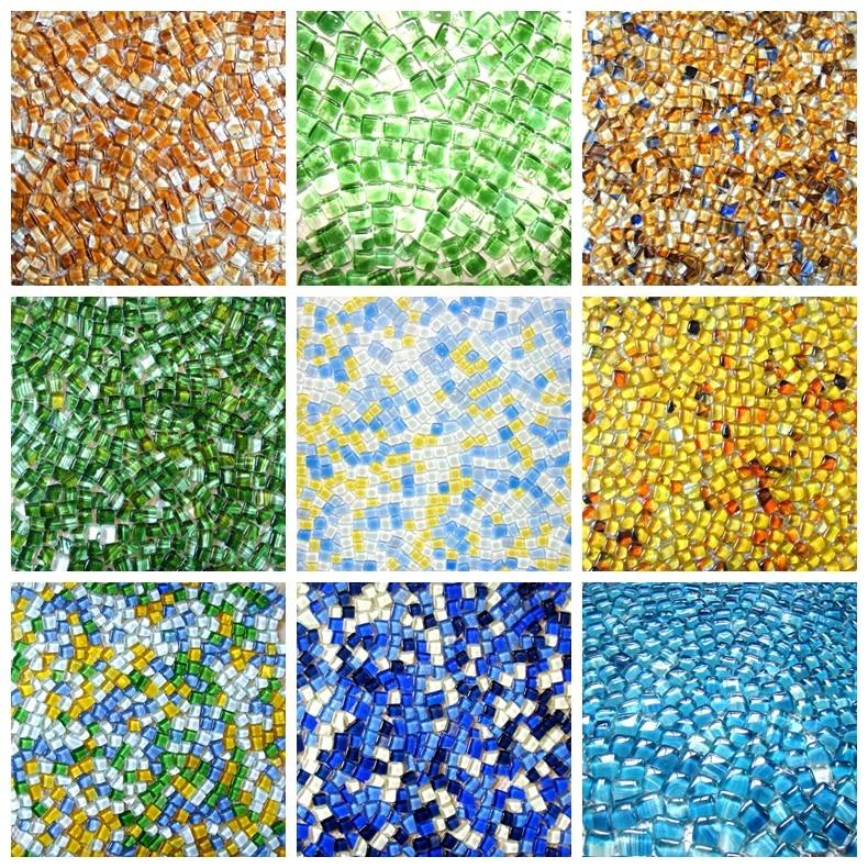 aliexpresscom buy irregular shape blue color glass mosaic tiles ehgm1005i kitchen backsplash bathroom shower wall cover hallway border from reliable