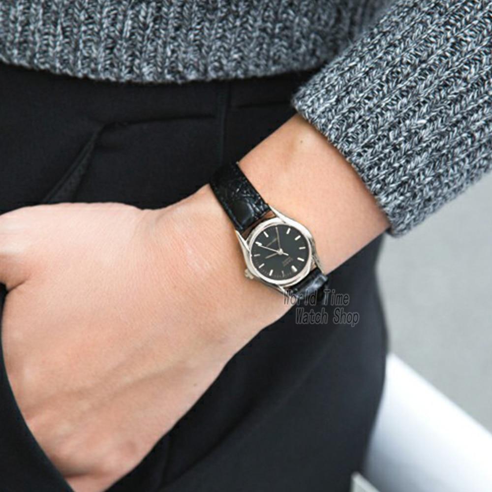 92f36f7e168 Aliexpress.com   Buy Casio watch Analogue Women s Quartz Watch Fashion  Simple Waterproof Pointer Leather Strap Watch LTP 1094 from Reliable watch  f ...