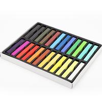 24 Colors Fashion Portable Hair Color Hair Chalk Crayon Popular And Temporary DIY Styling Tools