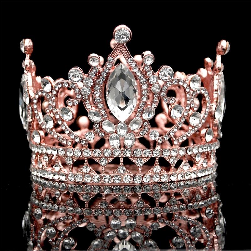 Rose Gold Wedding Crown...