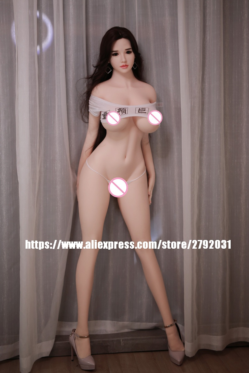 New Big Breast 170 Silicone Sex Doll Adult Love Doll Realistic Sexy Toys For Men TPE Dolls with Metal Skeleton