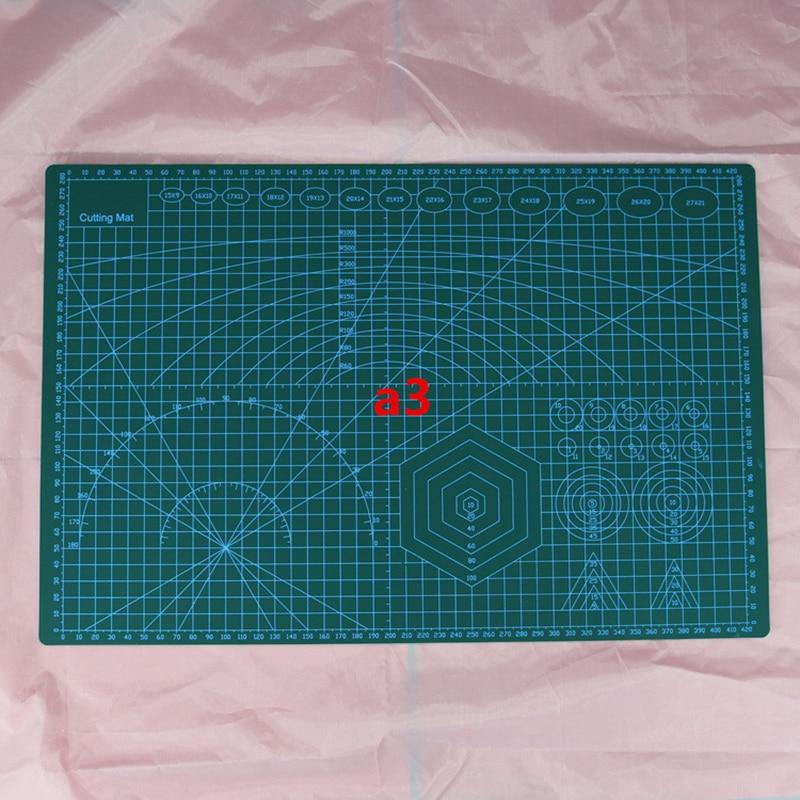 A3 Doppelseitige Self Healing 5 Schichten Schneiden Matte Metric/Imperial 45 cm x 30 cm Quilten Herrscher Geeignet für Papier Karte Stoff Cra
