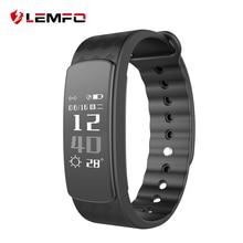 LEMFO i3 HR Heart Rate Banda Inteligente 0.96 polegada Tela de Toque OLED IP67 À Prova D' Água Multi-Gestão esportiva Sports Smartband homem/Mulher