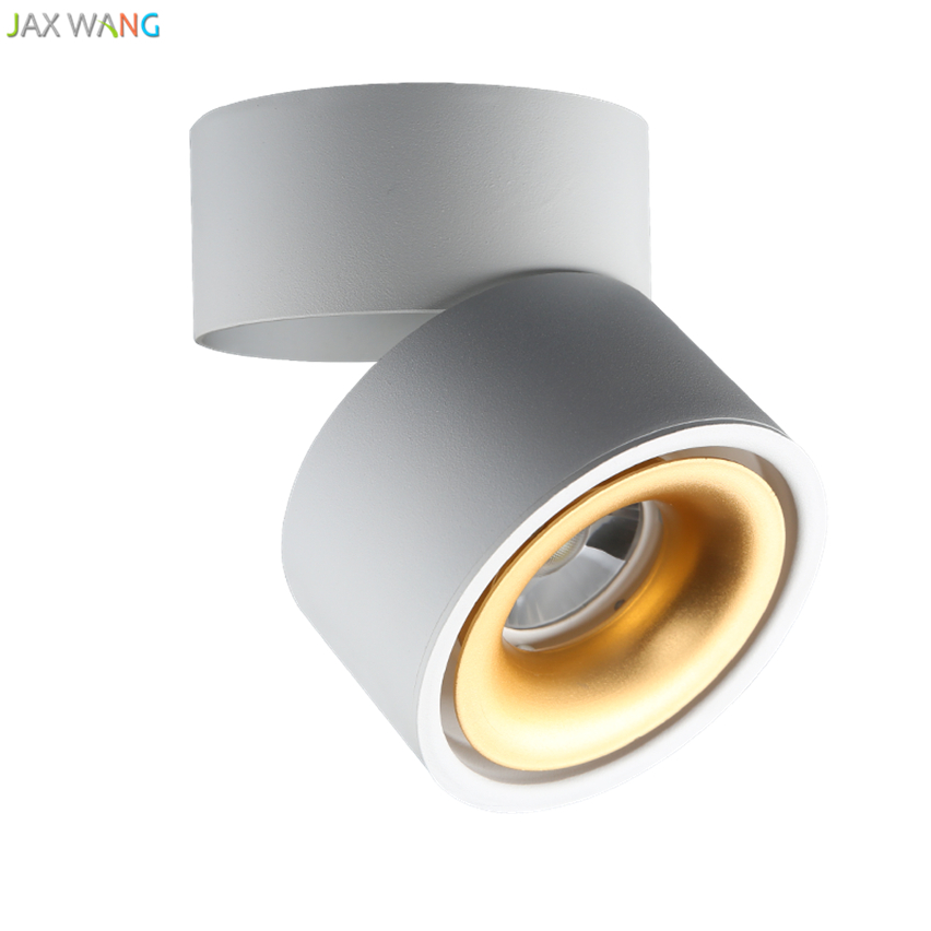 Wall Track Lights: LED Ultra Thin Spotlights Living Room Home Bedroom WALL Mounted Track Lights Ceiling Cob
