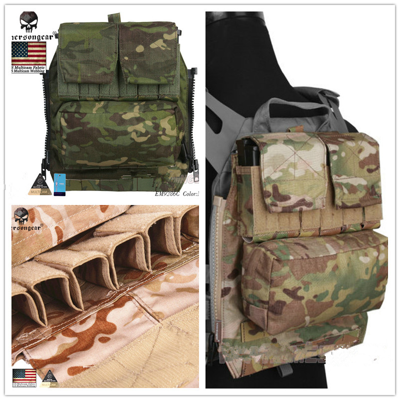 Emerson Gear MOLLE Panel For AVS JPC2.0 VEST Carrier Hunting Wargame Gear Camo