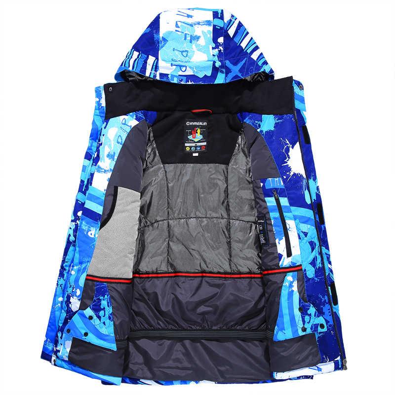 Super Hangat dan Nyaman Ski Suit Set Tahan Air Tahan Angin Bernapas Mendaki Gunung Luar Ruangan Musim Dingin Snowboarding Ski Suit