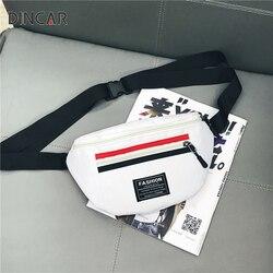 Fashion Women Waist Bag Waterproof Nylon Fanny Pack Belt Bag Zipper Ladie Chest Handbags Girls Boys Travel Phone Anti-theft Bags