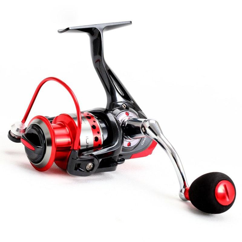ФОТО High-grade GM2000 EVA Spinning Casting Fishing Reel  10+1BB Speed Ratio 5.0:1 Fishing Wheel Carp Tackle  Reels