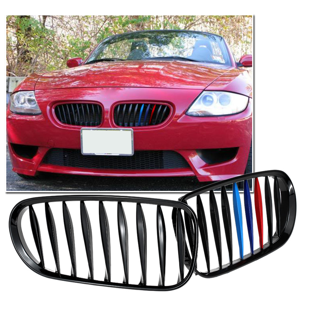 Bmw Z4 2003 For Sale: Aliexpress.com : Buy M Color Black Front Kidney Grille