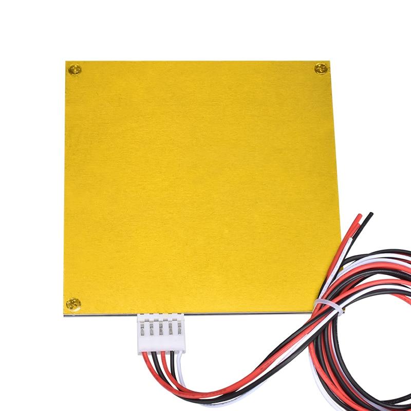 1 pc Heatbed MK2B Pour Mendel RepRap mendel PCB Chauffée Lit MK2B Pour Imprimante Mendel 3D Lit Chaud 120*120mm 12 V