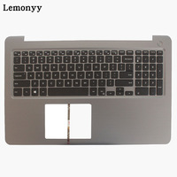 100% NEW US laptop keyboard for DELL INSPIRON 15 5565 5567 with palmrest upper cover Backlit keyboard