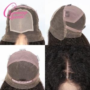 Image 5 - 챠밍 퀸 실크베이스 가발 전체 레이스 인간의 머리카락 가발 흑인 여성을위한 변태 스트레이트 브라질 레미 헤어 가발 베이비 헤어