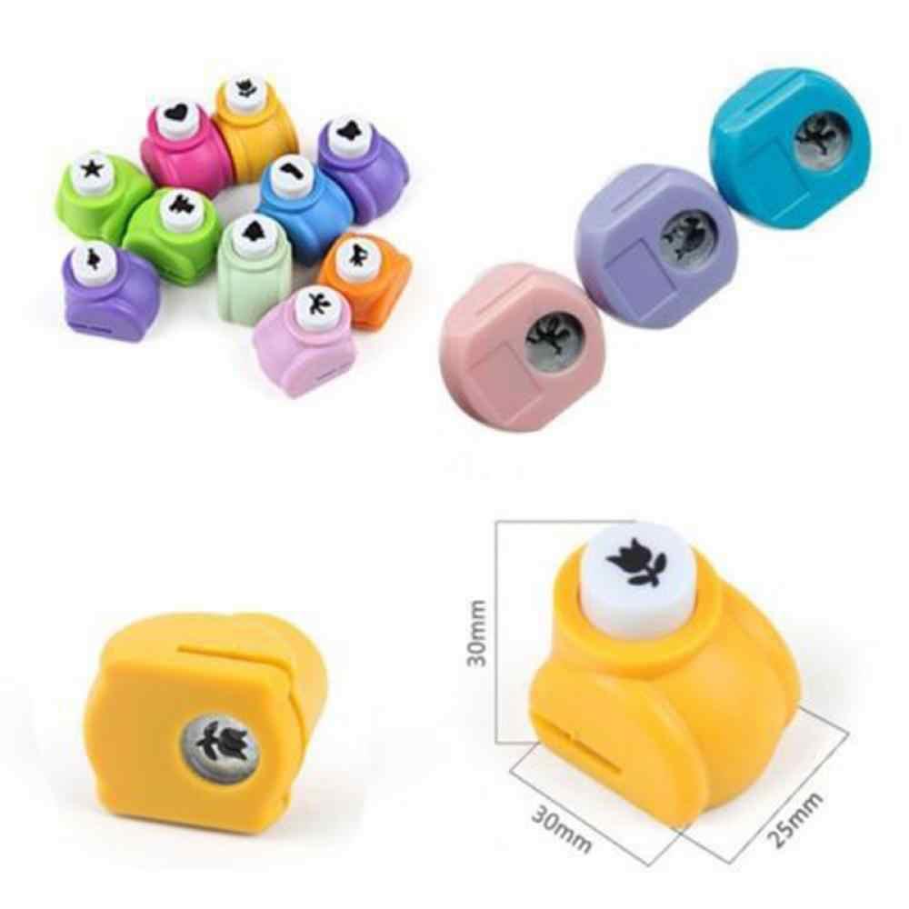 1 PCS 8 Stili Mini Bambini Perforatrici Mini Stampa di Carta A Mano Shaper Scrapbook Tag Carte FAI DA TE punch Cutter Strumenti vendita calda